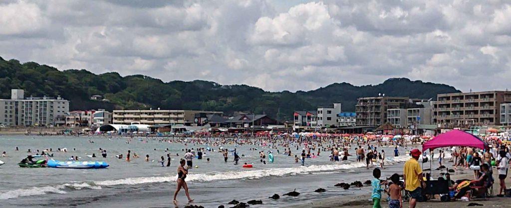 逗子海岸(8月12日午後その2)