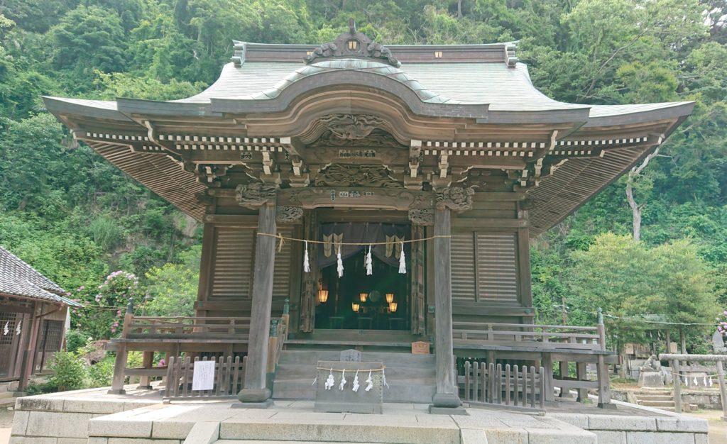 御霊神社(鎌倉) / Gorei Temple in Kamakura (2020, June 21st)