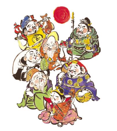 鎌倉・江の島七福神