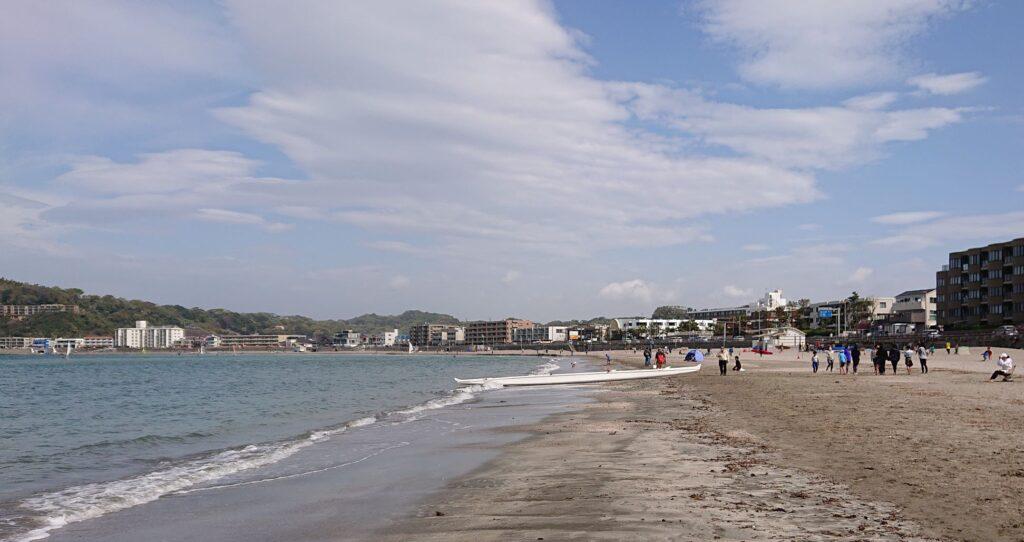 逗子海岸 / Zushi Beach (2021 April 4th)