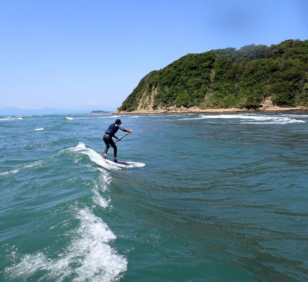 SUP Surfing (2021 April 30th)