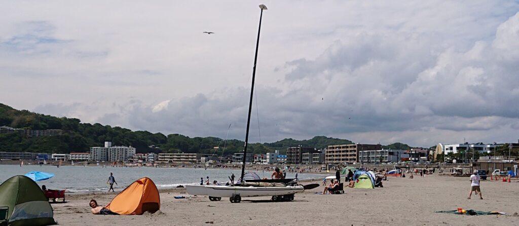 逗子海岸 /  Zushi Beach (2021 June 5th)
