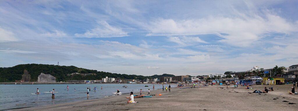 逗子海岸 / Zushi Beach (2021 Aug 11th)