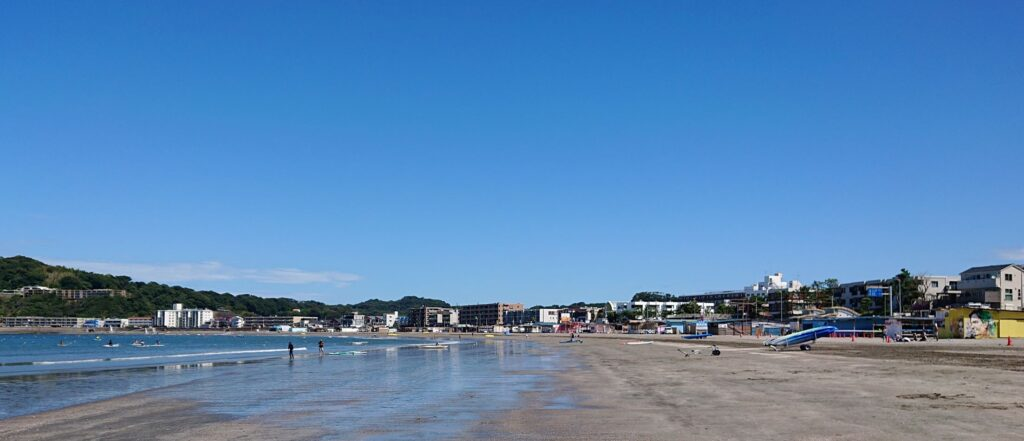 逗子海岸/  Zushi Beach  (2021 Aug 20th)