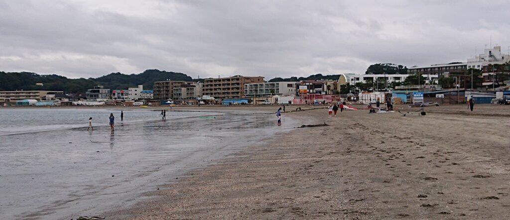 逗子海岸 / Zushi Beach (2021 Sep 5th)