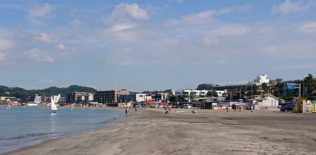 逗子海岸 / Zushi Beach (2021 Sep 10th)