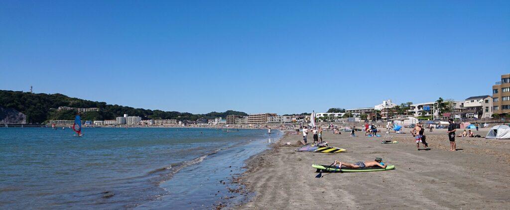逗子海岸/ Zushi Beach (2021 June 19th)