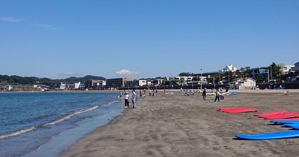 逗子海岸/  Zushi Beach (2021 Sep 23th)