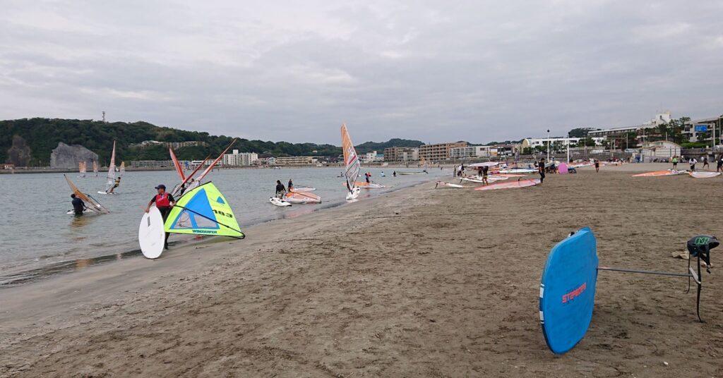 逗子海岸/  Zushi Beach (2021 Sep 26th)