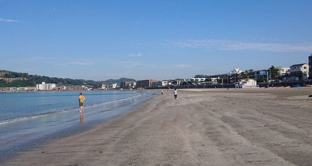 逗子海岸 / Zushi Beach (2021 Oct 8th)
