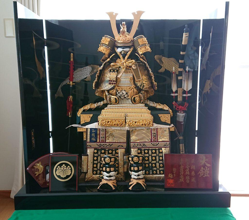 鎧兜 Japanese Samurai Doll