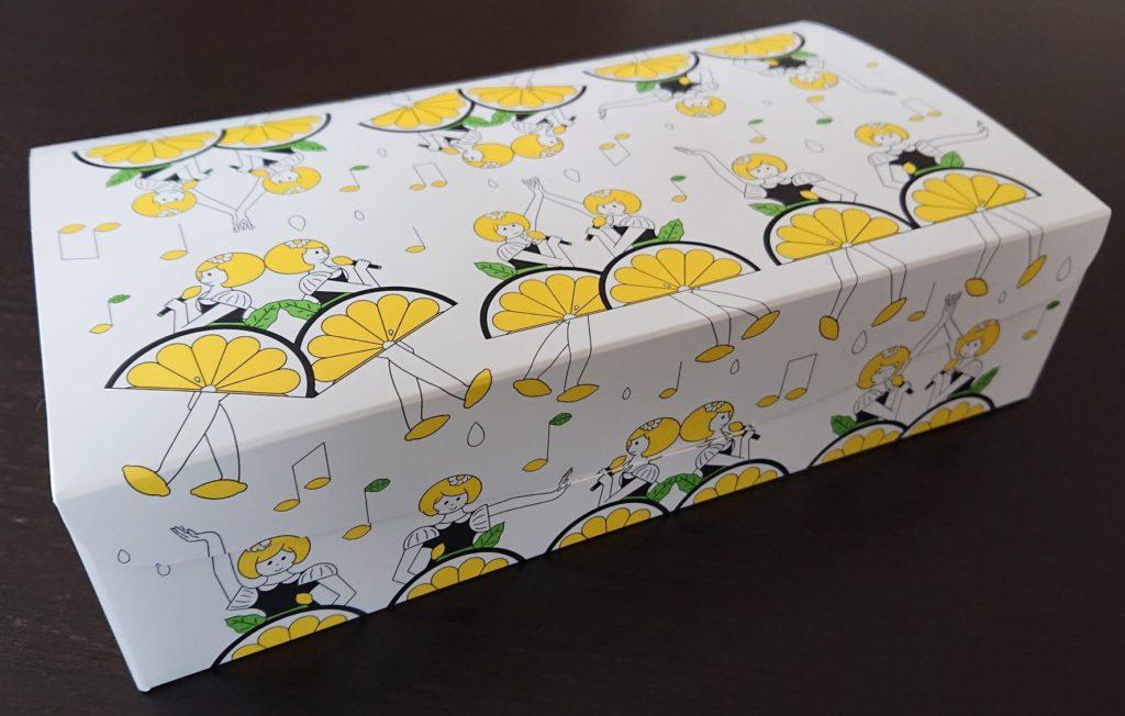 パッケージ レモンケーキ / Package of Lemon Cake