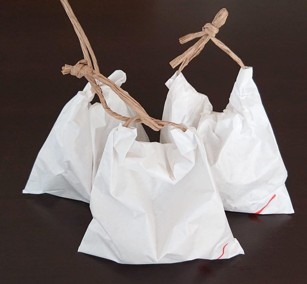贈り物用のパッケージ(無料)
