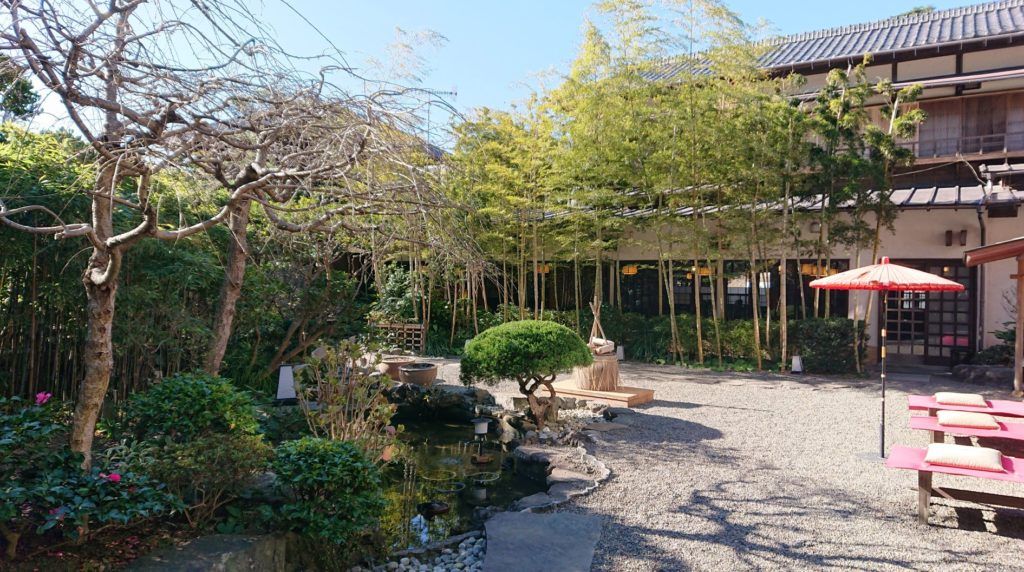 日影茶屋 庭園1 / Garden of Hikage Chaya