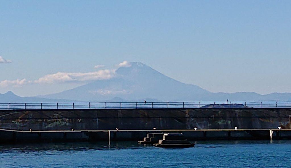 富士山 2 / Mt. Fuji (Zoom up) (2020 Dec 21st)